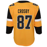 Sidney Crosby Pittsburgh Penguins Youth Alternate Replica Jersey