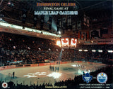 Edmonton Oilers at Maple Leaf Gardens 8x10 Photograph
