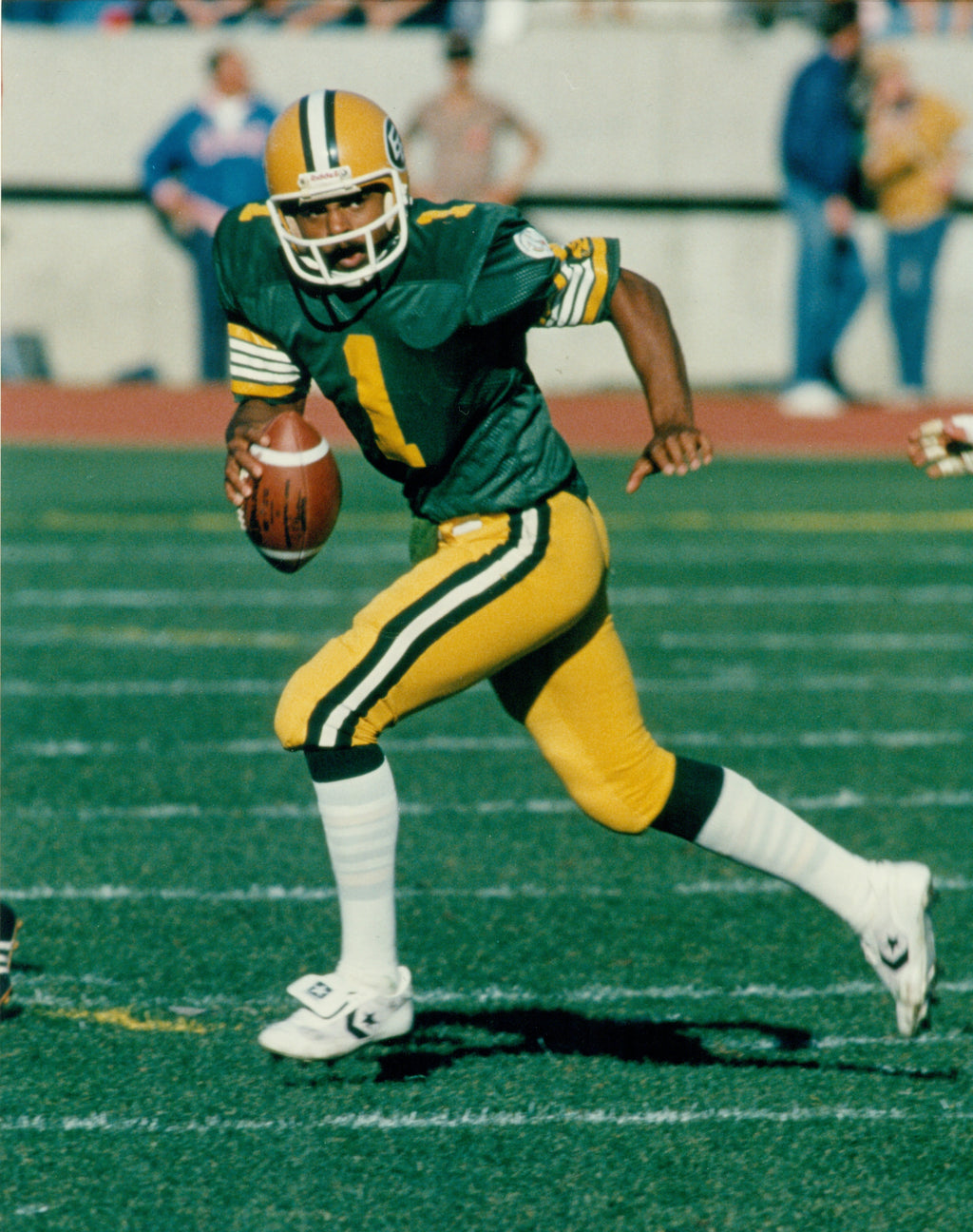 Warren Moon Edmonton Eskimos 8x10 Photograph