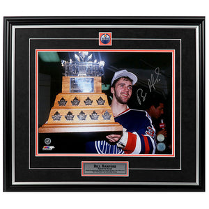 Bill Ranford Edmonton Oilers 1990 Conn Smythe Autographed 11x14 Photo