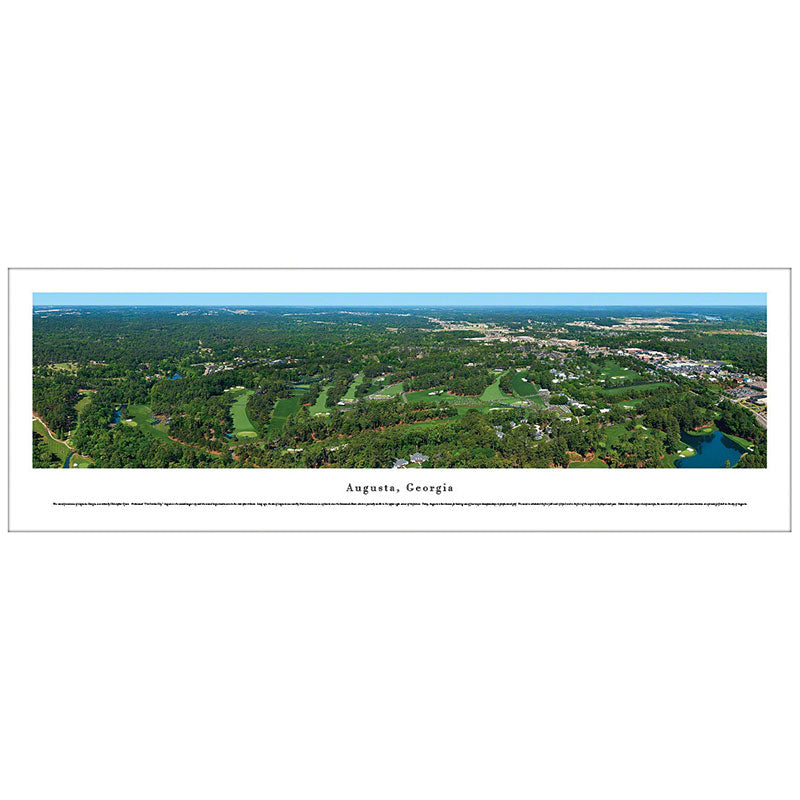Augusta, Georgia The Masters Panoramic Print