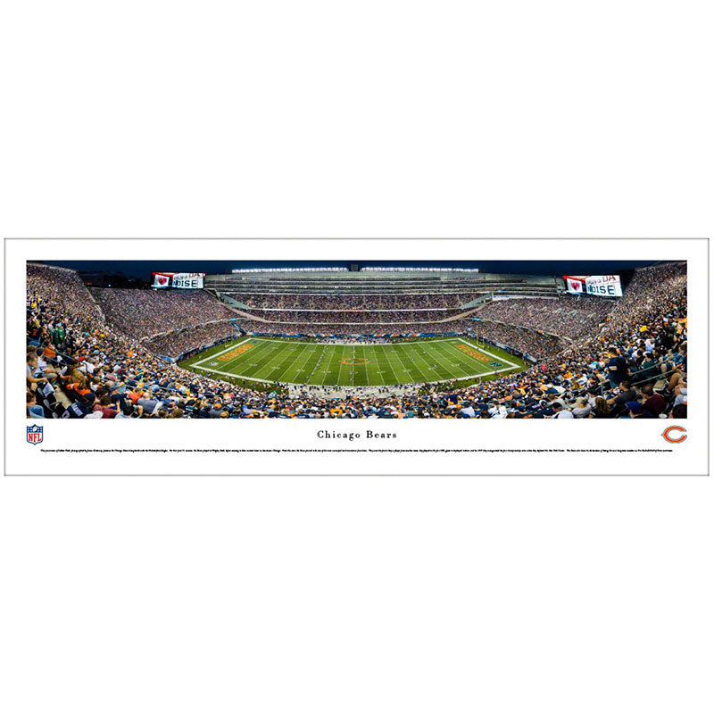 Chicago Bears Soldier Field Panoramic Print