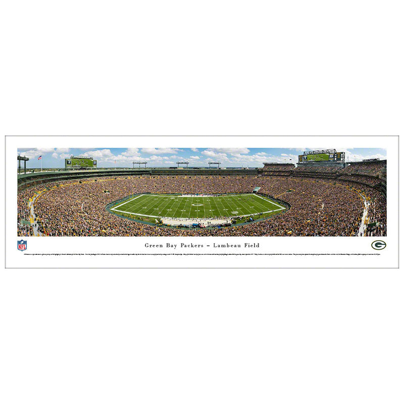 Green Bay Packers Lambeau Field Panoramic Print