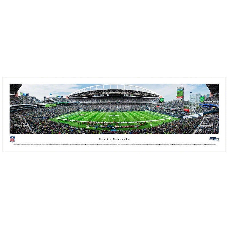 Seattle Seahawks Centurylink Field Panoramic Print