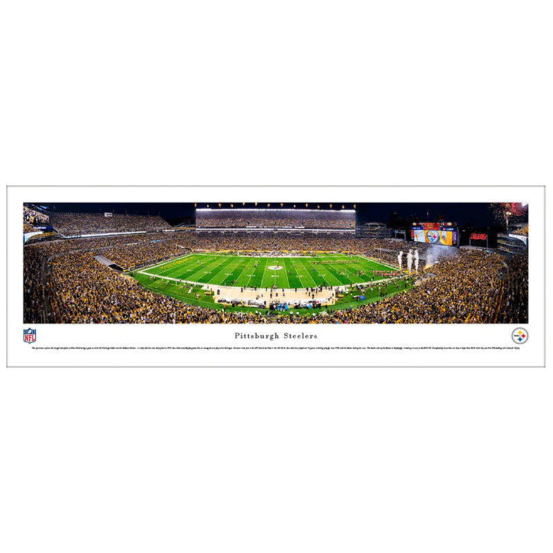Pittsburgh Steelers Heinz Field Panoramic Print