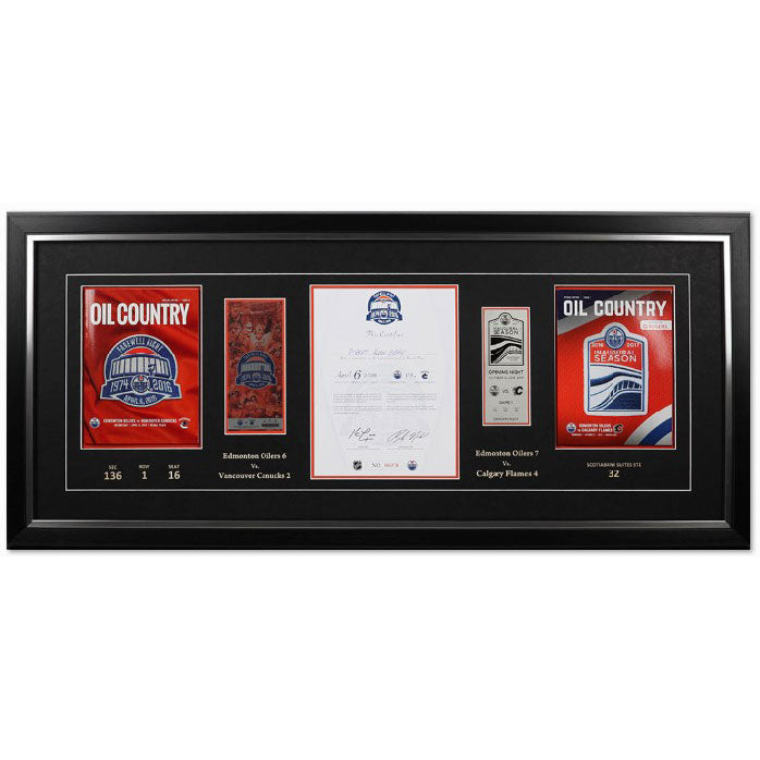 Frame Package for Rexall Place Final & Rogers Place First Game