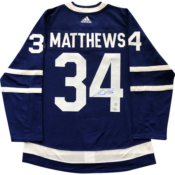Auston Matthews Toronto Maple Leafs Autographed adidas Authentic Jersey