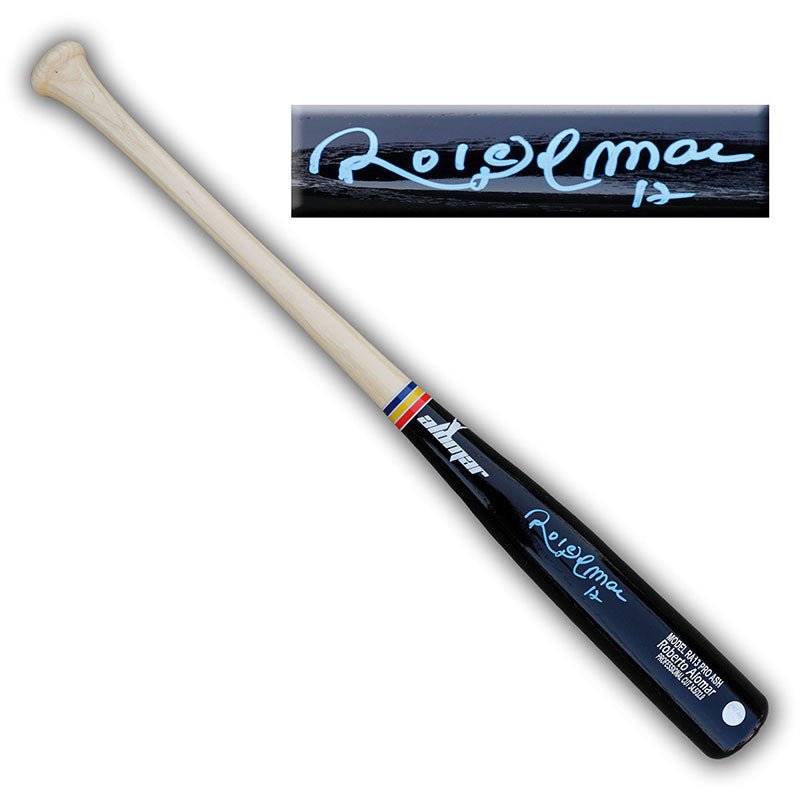 Roberto Alomar Toronto Blue Jays Autographed Game Model Replica Baseball Bat