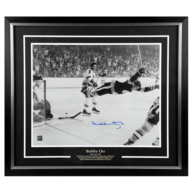 Bobby Orr Boston Bruins Autographed 16x20 Framed Photo