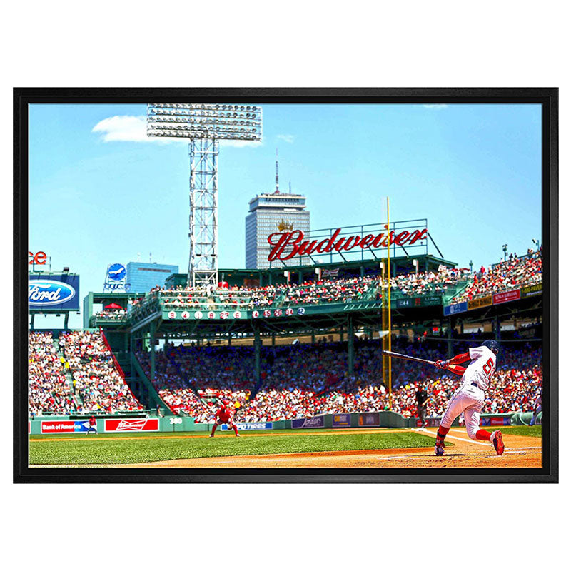 Mookie Betts Boston Red Sox 20x29 Canvas Frame