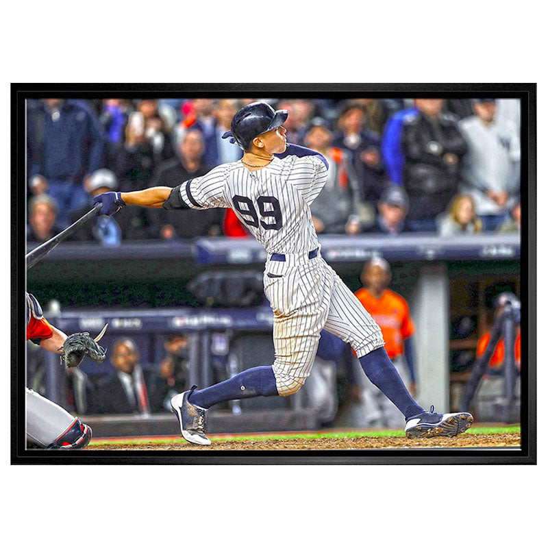 Aaron Judge New York Yankees 20x29 Canvas Frame