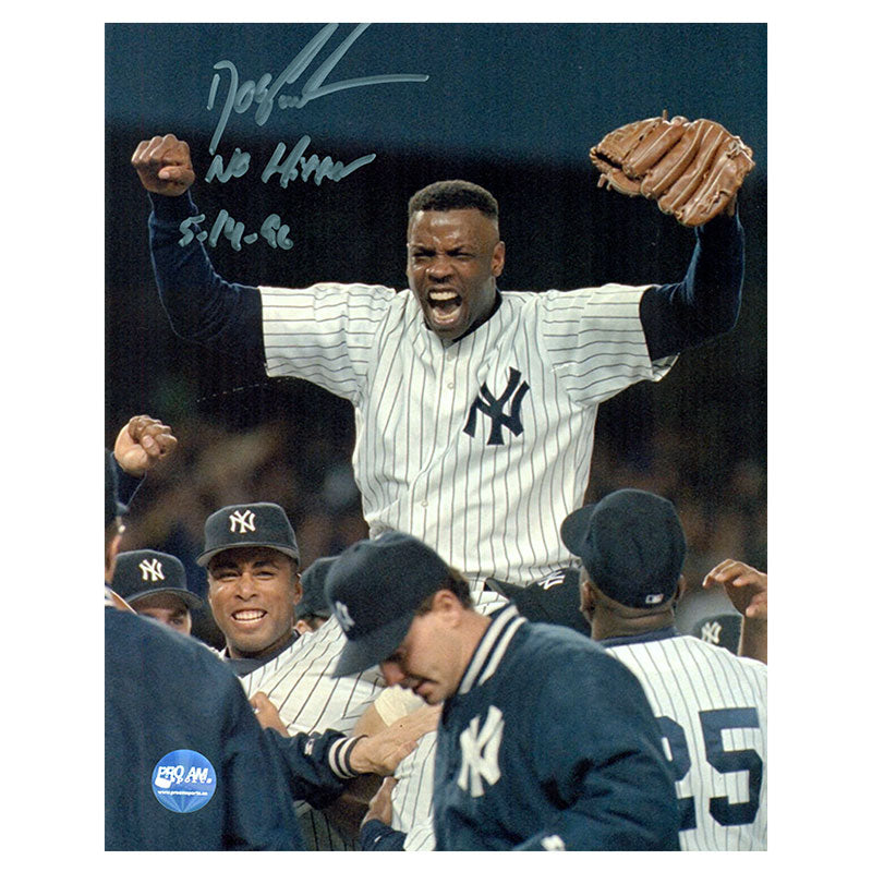 "Dwight ""Doc"" Gooden New York Yankees Autographed & Inscribed 8x10 Photo"