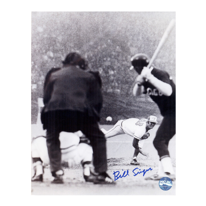 Bill Singer Toronto Blue Jays Autographed 8x10 Photo