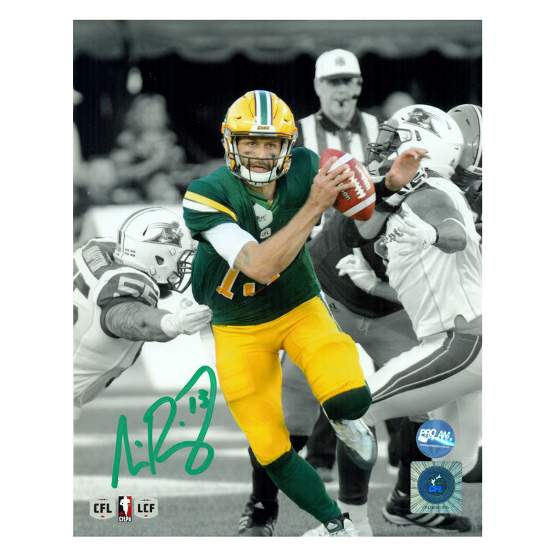 Mike Reilly Edmonton Eskimos Autographed 8x10 Photo