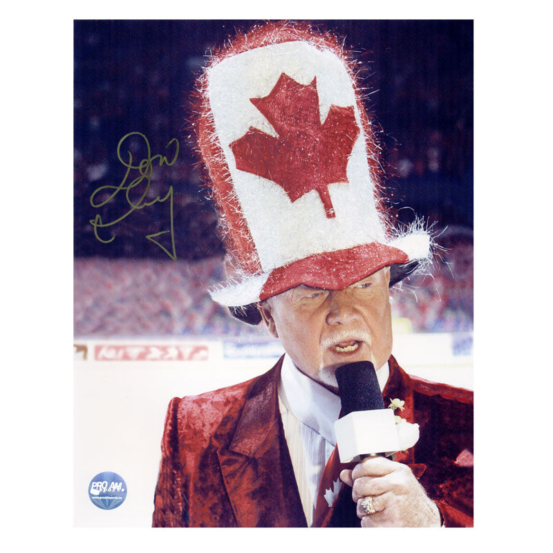 Don Cherry Autographed 11x14 Photo