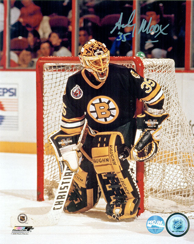 Andy Moog Boston Bruins Autographed 8x10 Photo