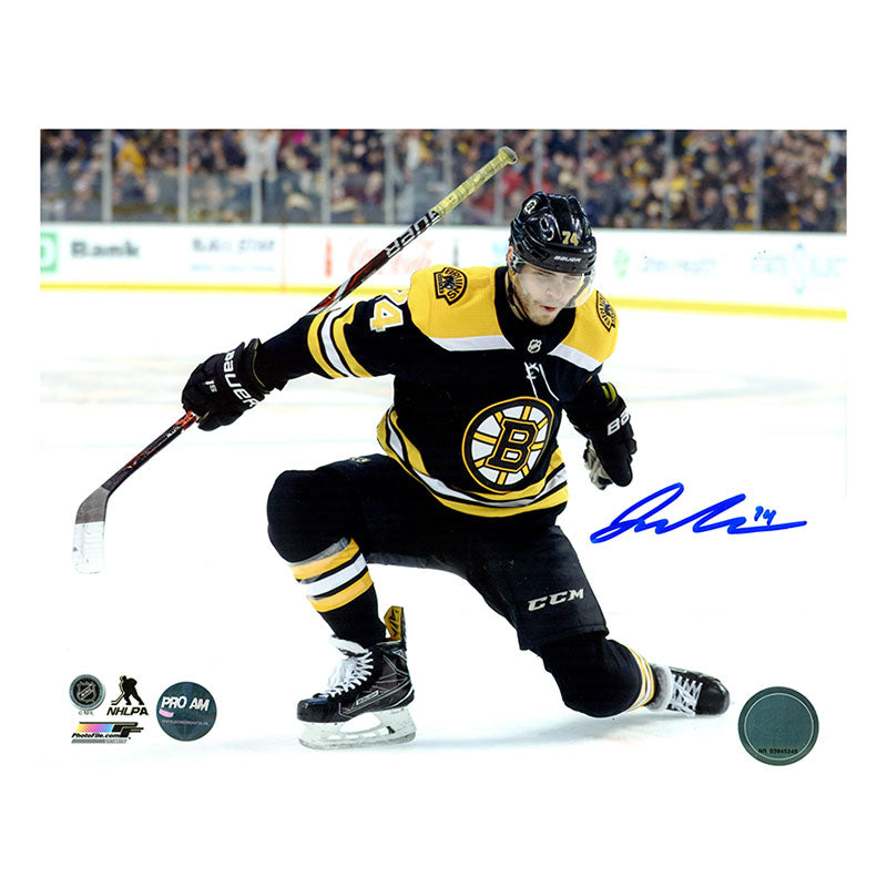 Jake DeBrusk Boston Bruins Autographed 11x14 Photo