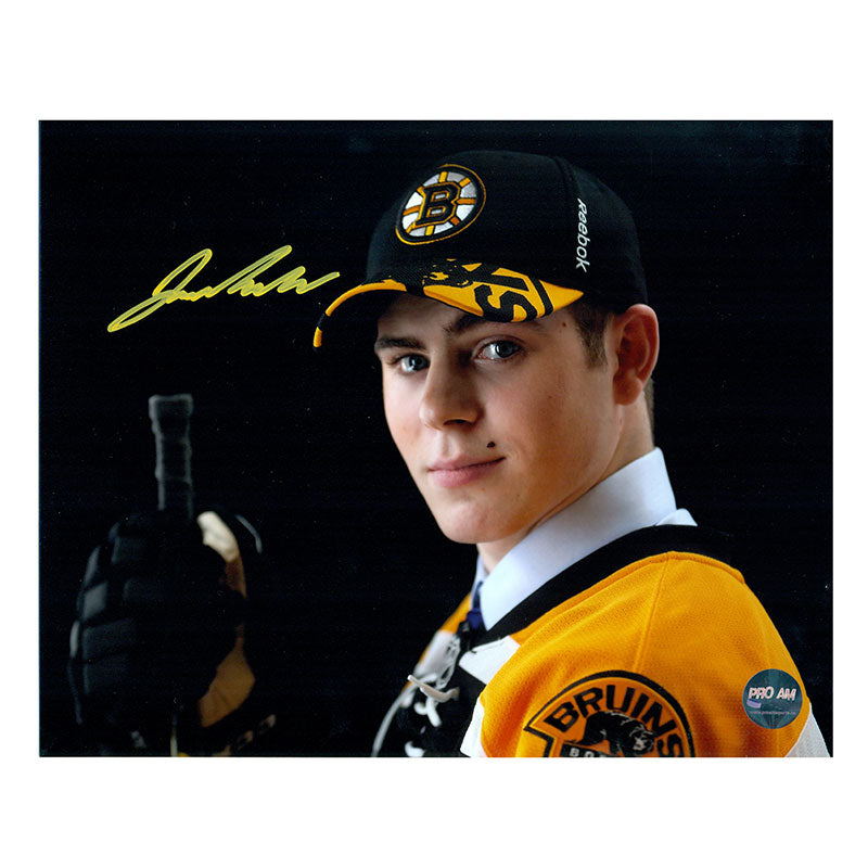 Jake DeBrusk Boston Bruins Autographed 8x10 Photo