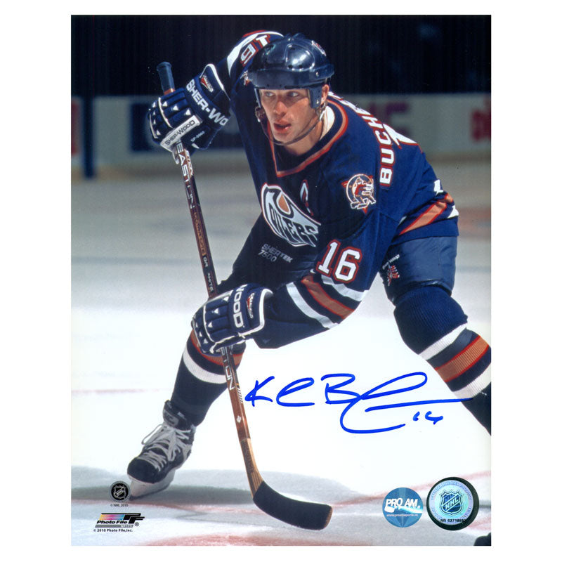 Kelly Buchberger Edmonton Oilers Autographed 8x10 Photo