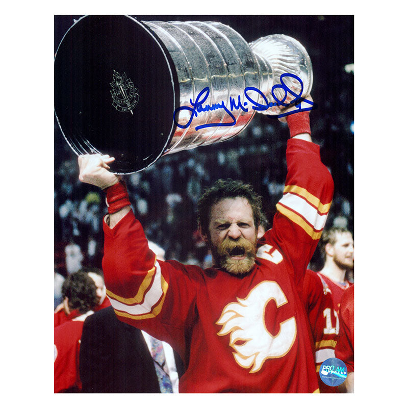 Lanny McDonald Calgary Flames Autographed 8x10 Photo