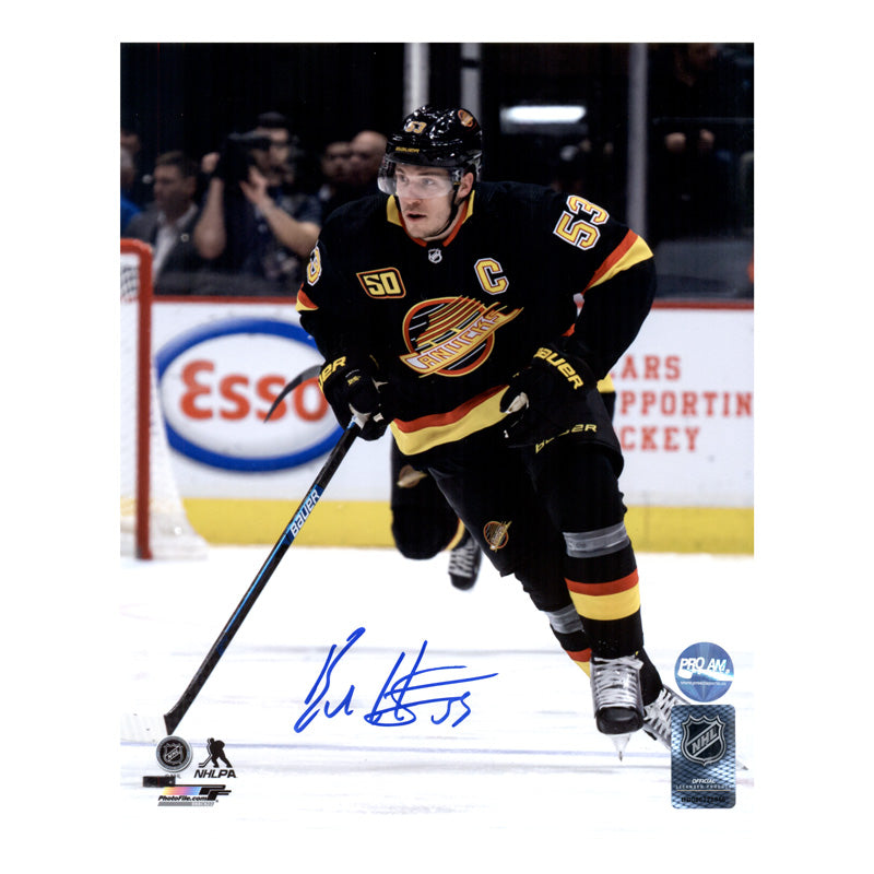 Bo Horvat Vancouver Canucks Autographed 8x10 Photo