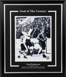 Paul Henderson - Goal of The Century Signed 8x10 Photo