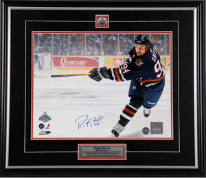 Ryan Smyth Edmonton Oilers Autographed 8x10 Photo