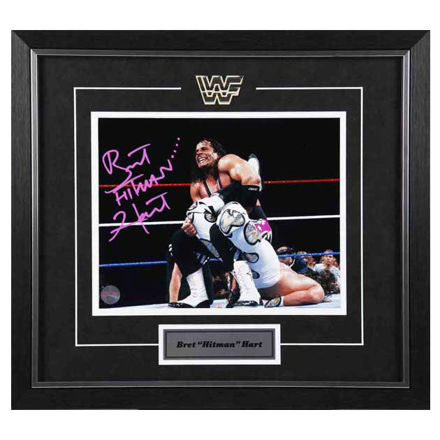 "Bret ""Hitman"" Hart Autographed 8x10 Photo"