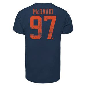 Connor McDavid Edmonton Oilers '47 Player Tee