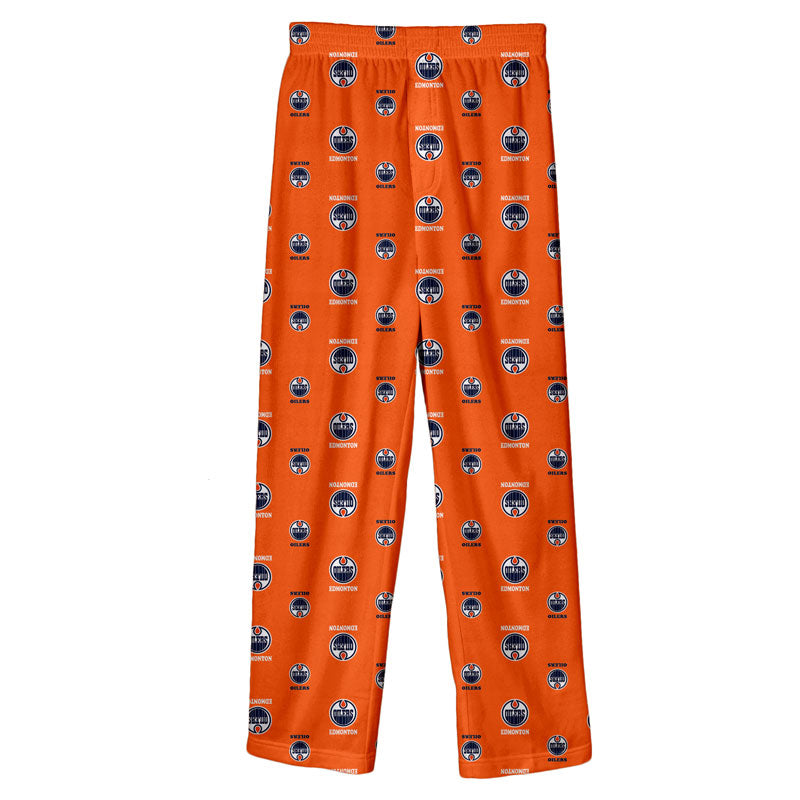 Edmonton Oilers Kids' Printed Sleep Pants