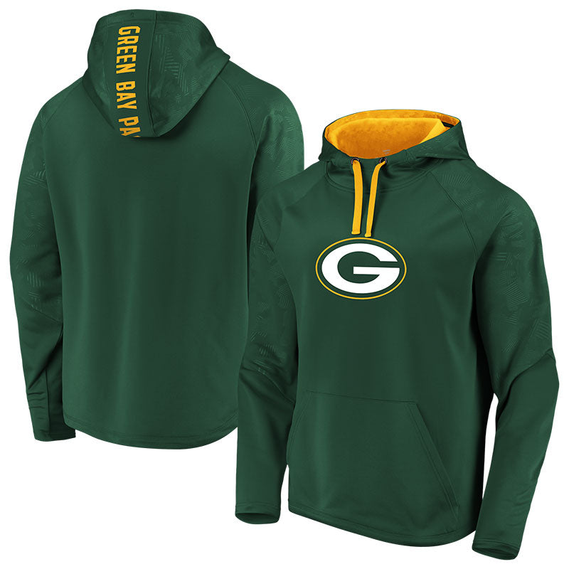 Green Bay Packers Iconic Defender Primary Logo Hood