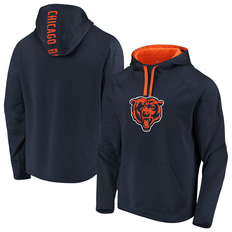 Chicago Bears Iconic Defender Primary Logo Hood