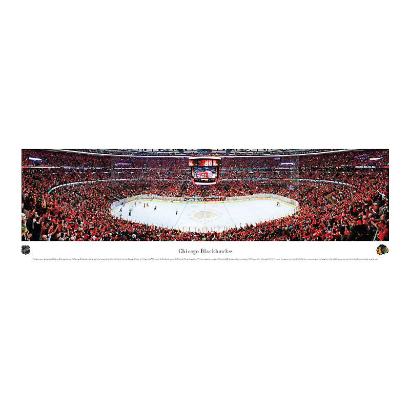 Chicago Blackhawks - United Center Panoramic Print