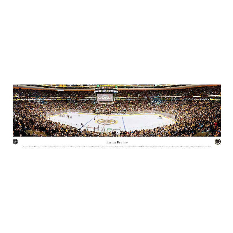 Boston Bruins - TD Garden Panoramic Print