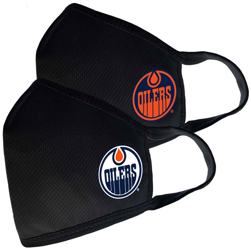 Edmonton Oilers Civil 2 Pack Face Cover/Mask