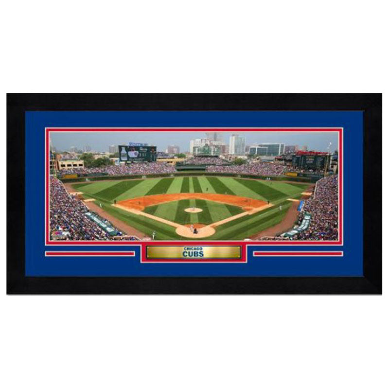 Wrigley Field Chicago Cubs Mini Frame
