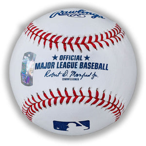 George Bell Toronto Blue Jays Autographed & Inscribed Rawlings Official Major League Baseball