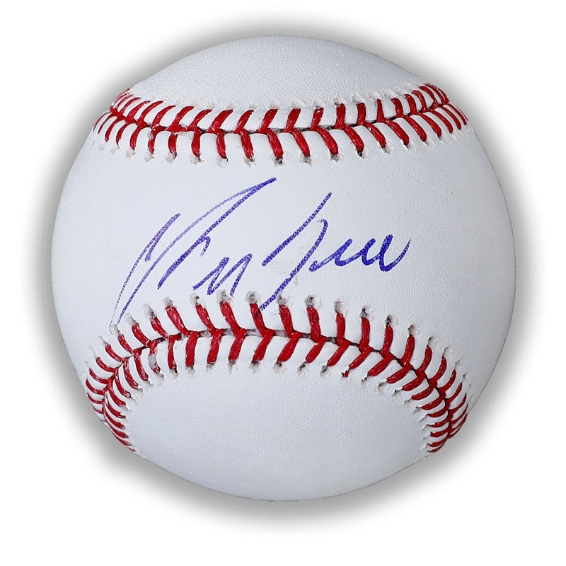 George Bell Toronto Blue Jays Autographed Rawlings Official Major League Baseball