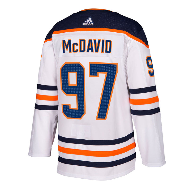 Connor McDavid Edmonton Oilers NHL Authentic Pro Road Jersey with On Ice Cresting