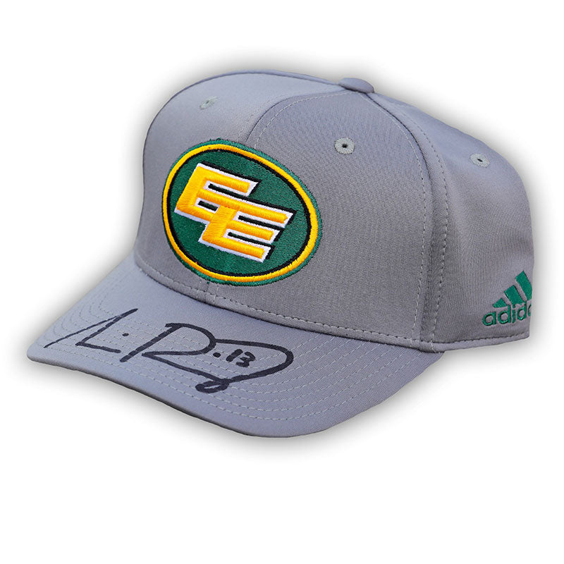 Mike Reilly Edmonton Eskimos Signed Grey Adidas Hat