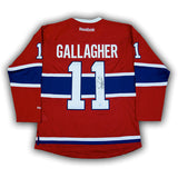 Brendan Gallagher Montreal Canadiens Autographed RBK Replica Jersey