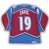 Joe Sakic Colorado Avalanche Autographed CCM Replica Jersey
