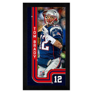 Tom Brady New England Patriots Mini Frame