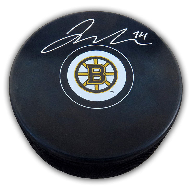 Jake DeBrusk Boston Bruins Autographed Puck
