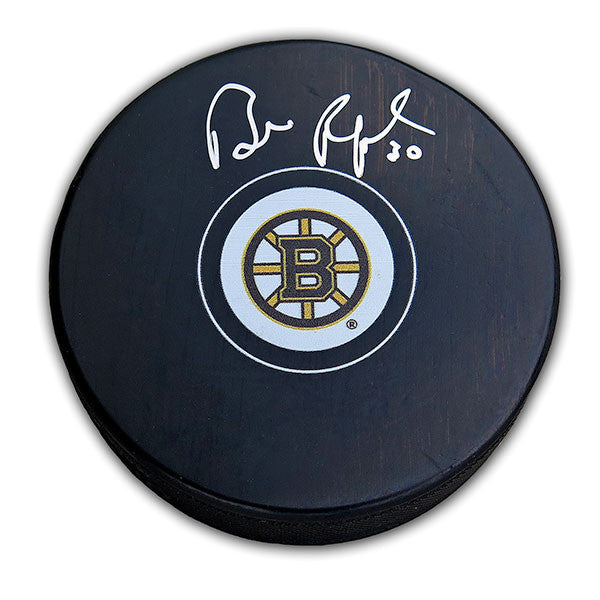 Bill Ranford Boston Bruins Autographed Puck