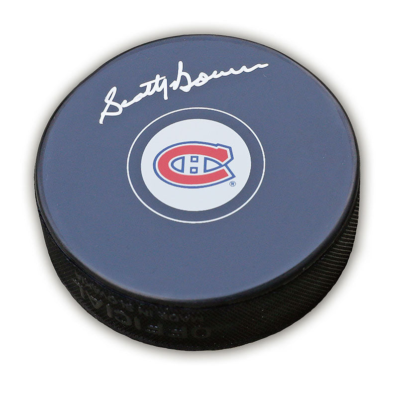Scotty Bowman Montreal Canadiens Autographed Puck