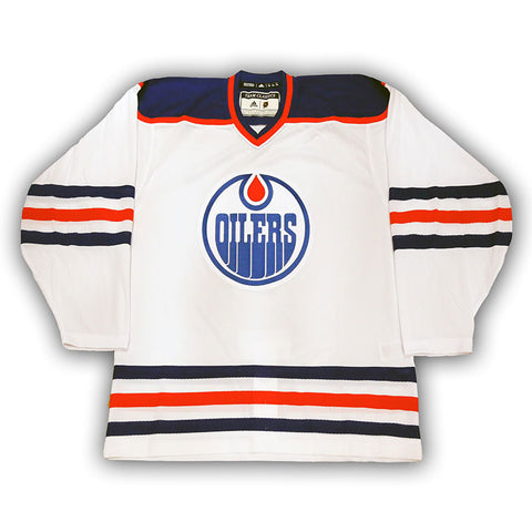 Connor McDavid Edmonton Oilers NHL adidas Authentic Pro Alternate Jersey with On Ice Cresting