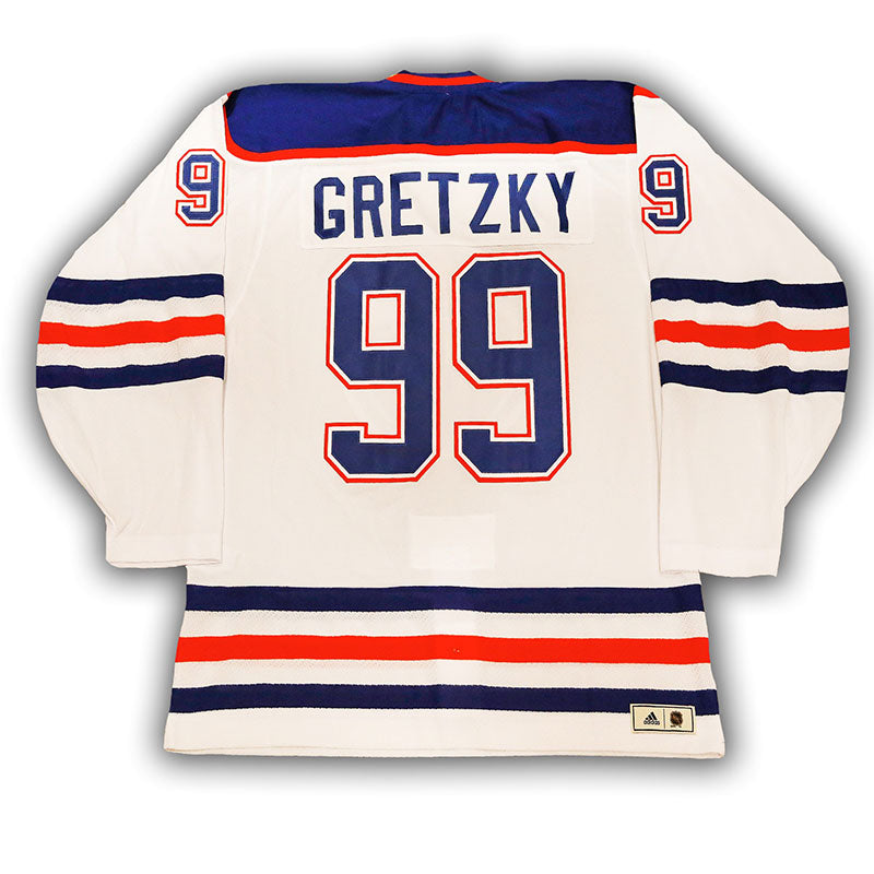sports shoes 0c94f e06b2 Wayne Gretzky Edmonton Oilers Vintage Authentic Pro White Jersey