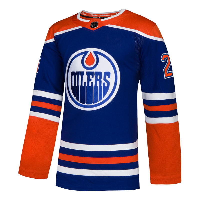 cheap for discount 2a5a4 79d3d Leon Draisaitl Edmonton Oilers NHL Authentic Pro Alternate Jersey with On  Ice Cresting