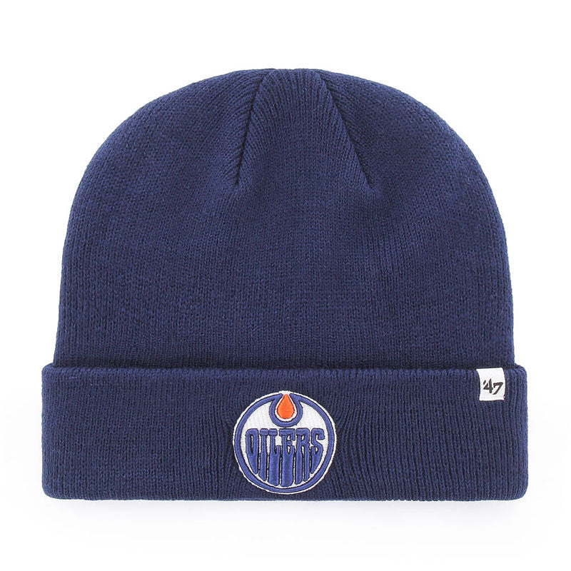 Edmonton Oilers '47 Raised Cuff Knit Toque